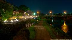 京都鴨川の川床