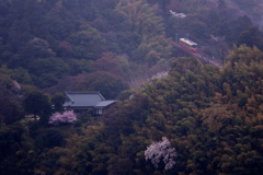 山寺とケーブルカー