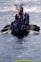 船渡御~天神祭