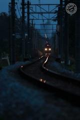 宵闇の鉄路