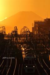富嶽と鉄道Ⅱ