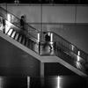Metallic stair