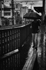 雨の三ノ輪橋駅 #2