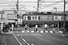 江ノ電のある町