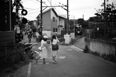 江ノ電散策 #3 〜 「ほら電車が来るよ!」