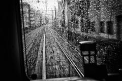 雨の中を行く #2