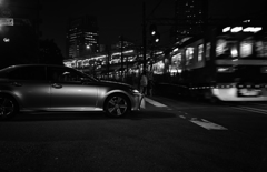 car and train