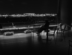 Observation Deck in Haneda Airport
