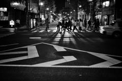横断歩道の風景