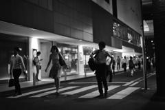 walking down the street #2