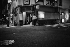 誘惑の夜道