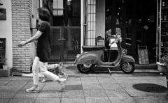 街角バイク