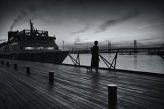 夜明け~出航を待つ