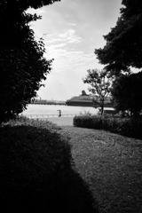 夏の日の横浜
