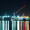 磯子 造船所夜景