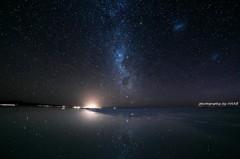 天体観測。