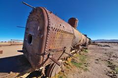 列車の墓地。