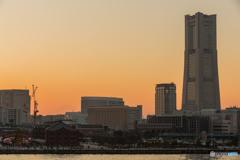 大さん橋からの夕景 #2