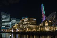 TOWERS Milight~みなとみらい21 オフィス全館ライトアップ5