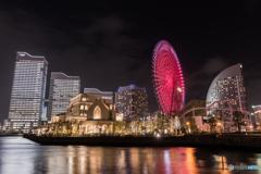 Minato Mirai the night view