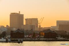 大さん橋からの夕景 #1