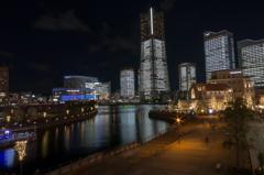 TOWERS Milight~みなとみらい21 オフィス全館ライトアップ3