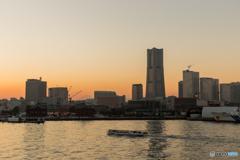 大さん橋からの夕景 #4