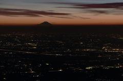 遠き富士山