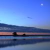松川浦の夜明け1