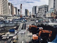 渋谷の再開発