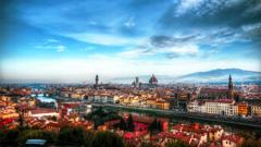 ミケランジェロ広場よりフィレンチェを望む