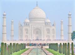 美しき霊廟 白き Taj Mahal