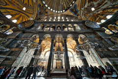 神居なる創意 イスタンブール アヤソフィア