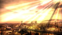 神の光はフィレンチェに輝く