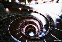 ヴァチカン美術館 EXIT 出口螺旋
