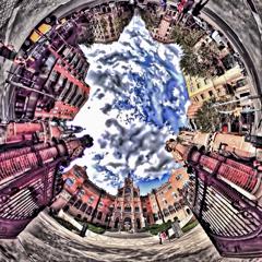 サン・パウ病院の円い軌跡