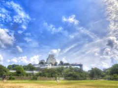 Himeji Castle and Fraulein