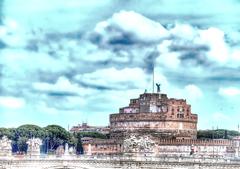 サンタンジェロ城の天使