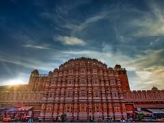 インド 風の宮殿 ハワー・マハル