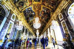 黄金宮殿 ヴェルサイユ 鏡の間