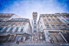 リスボンの不思議な街角