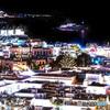 ギリシャ  夜のミコノス島
