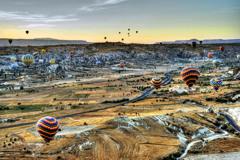 カッパドキア 気球による世界