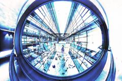 潜水服から見る東京