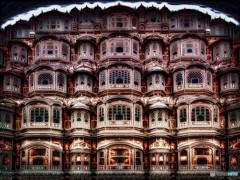 ハワー・マハル 赤い風の宮殿