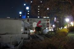 珍しく夜を (1)