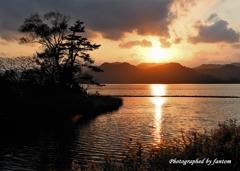 丹後の夕陽