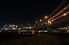 五色桜大橋へ向かって #23