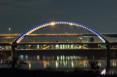 五色桜大橋へ向かって #17