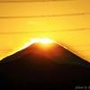 南平で見た富士山夕景#4